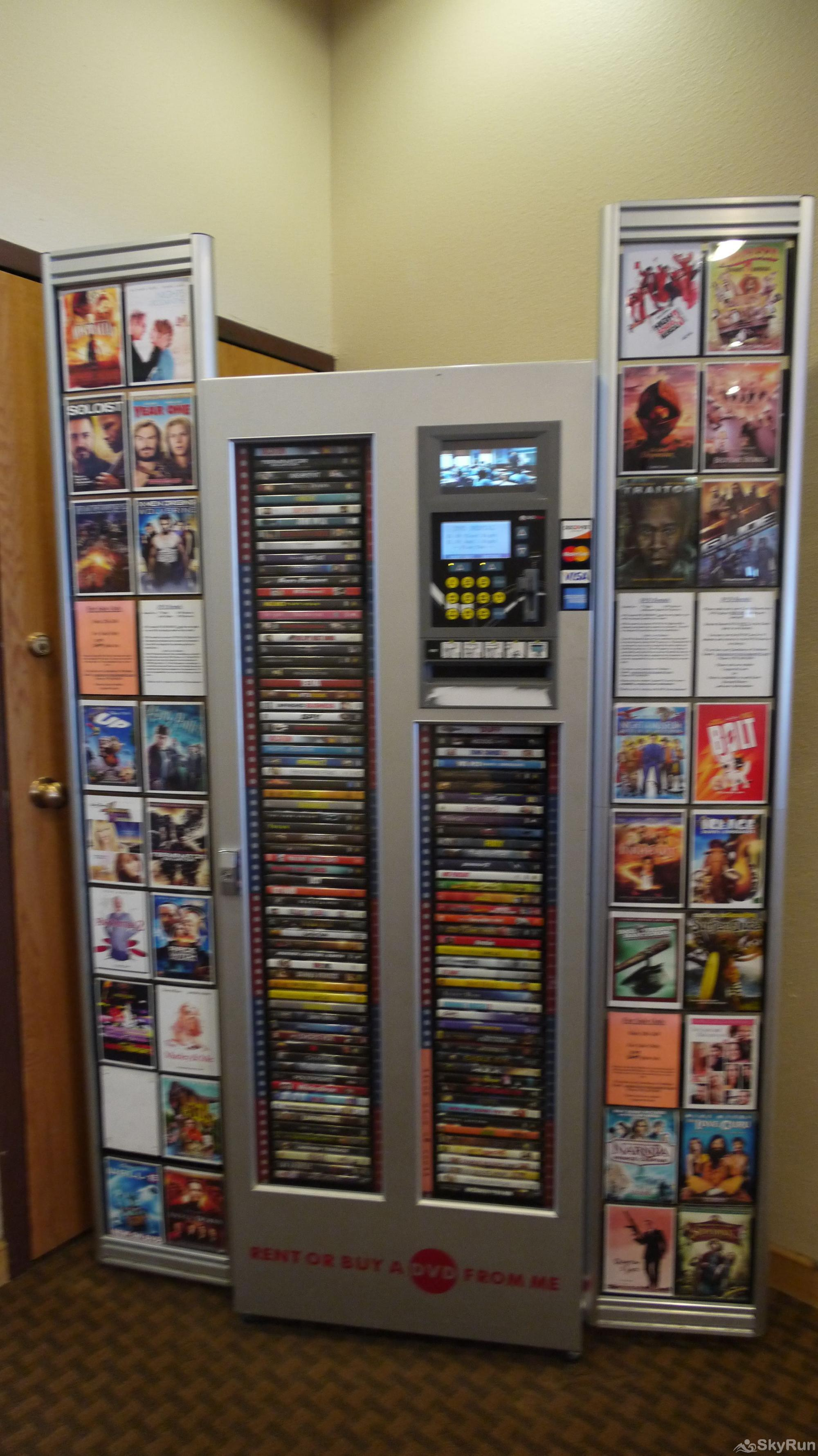 WH107 Wheeler House DVD Rental Machine