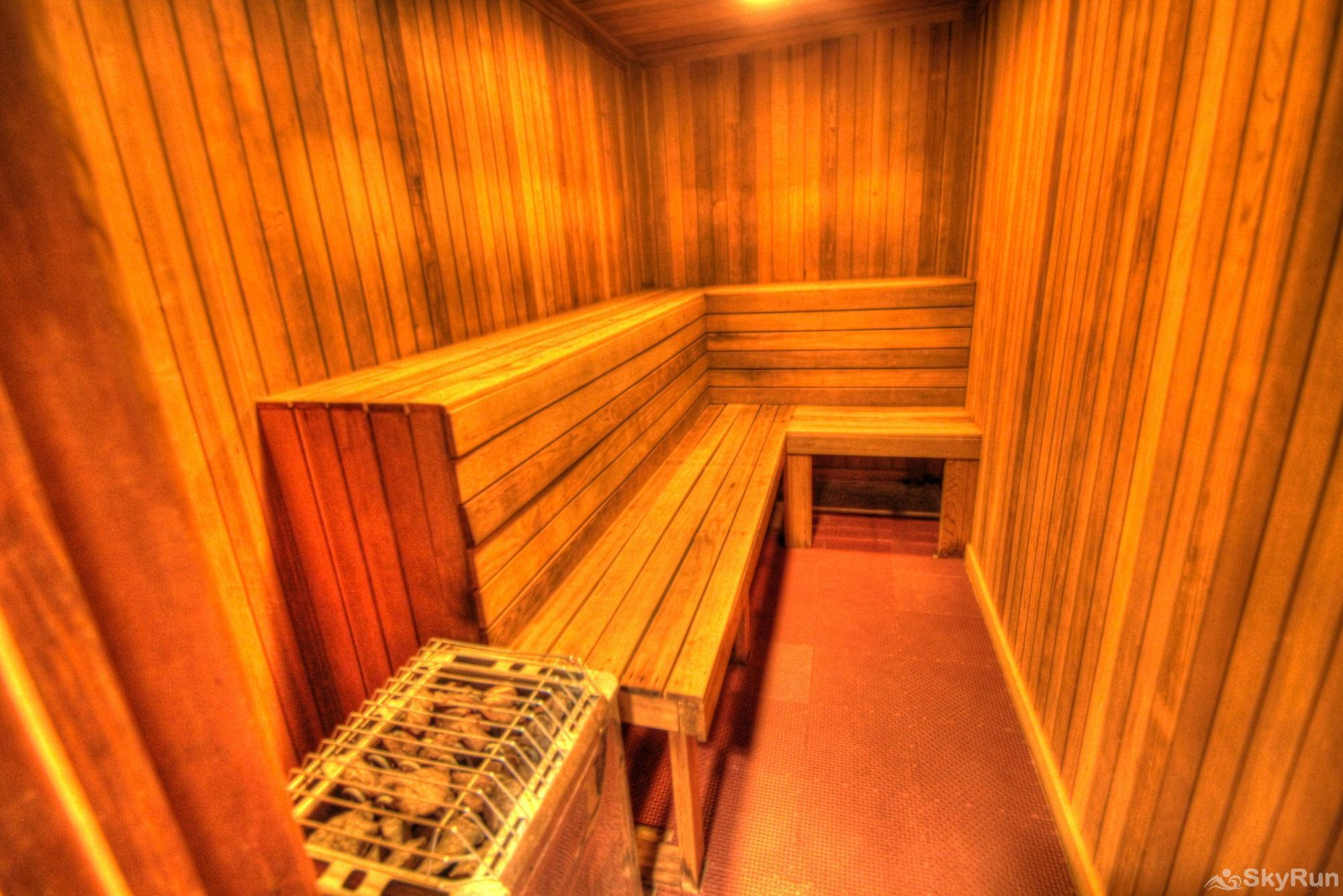 MC204 Mill Club Mill Club's Indoor Dry Sauna