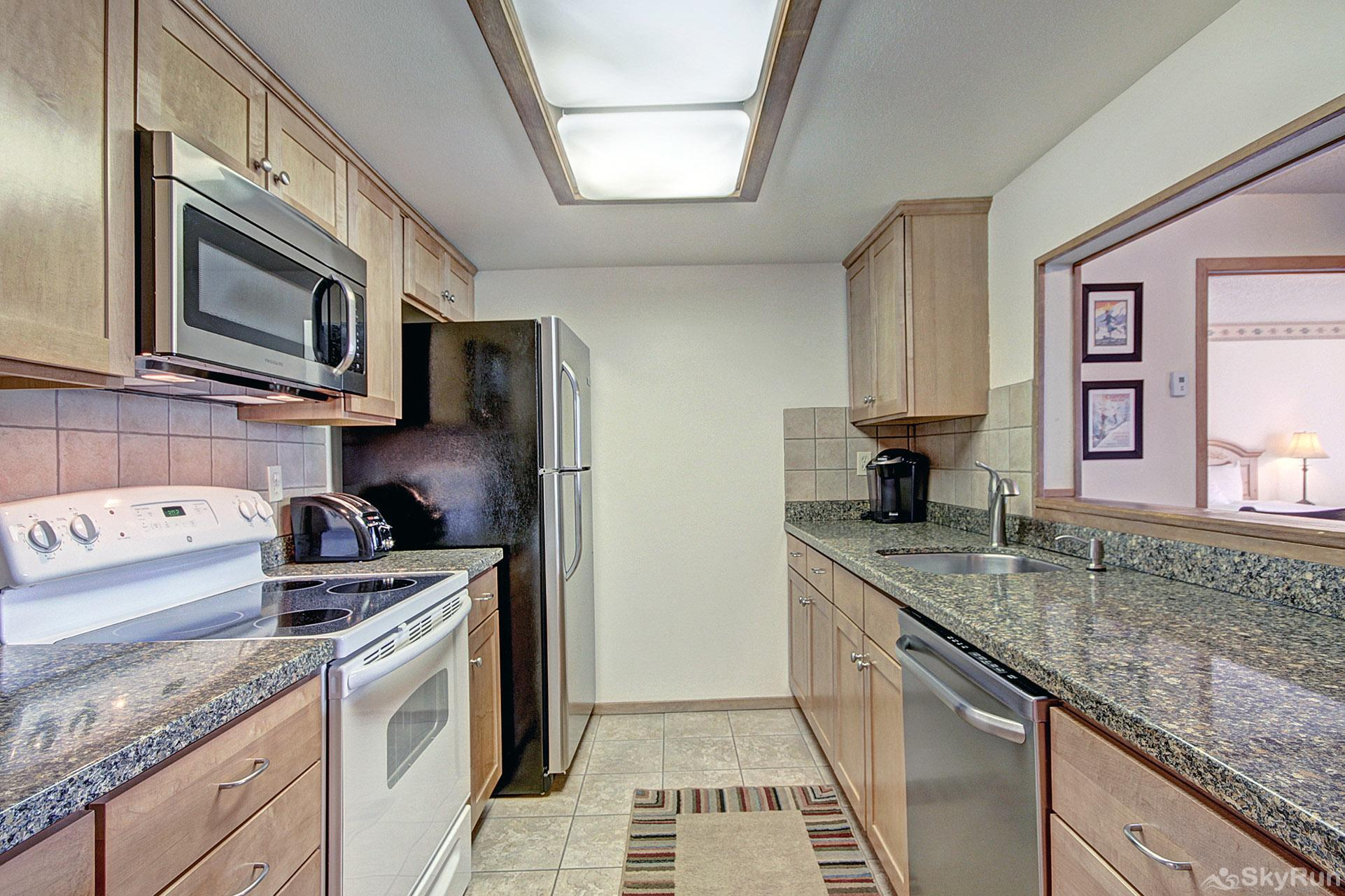 VS438 Village Square Fully Equipped Kitchen