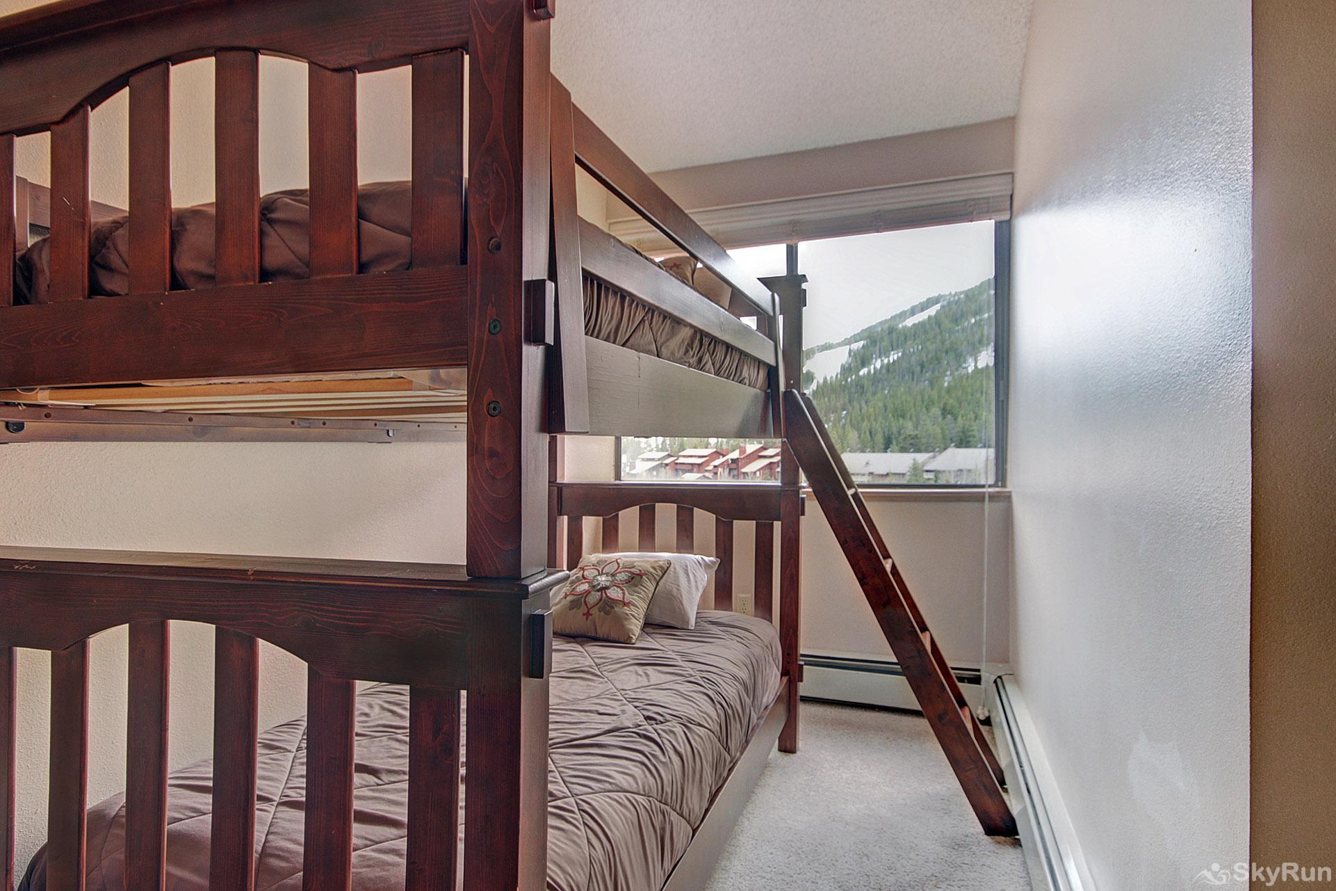 VS549 Village Square Twin Bunk Bed in Guest Bedroom