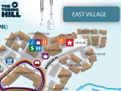 Copper Village & Trail Maps