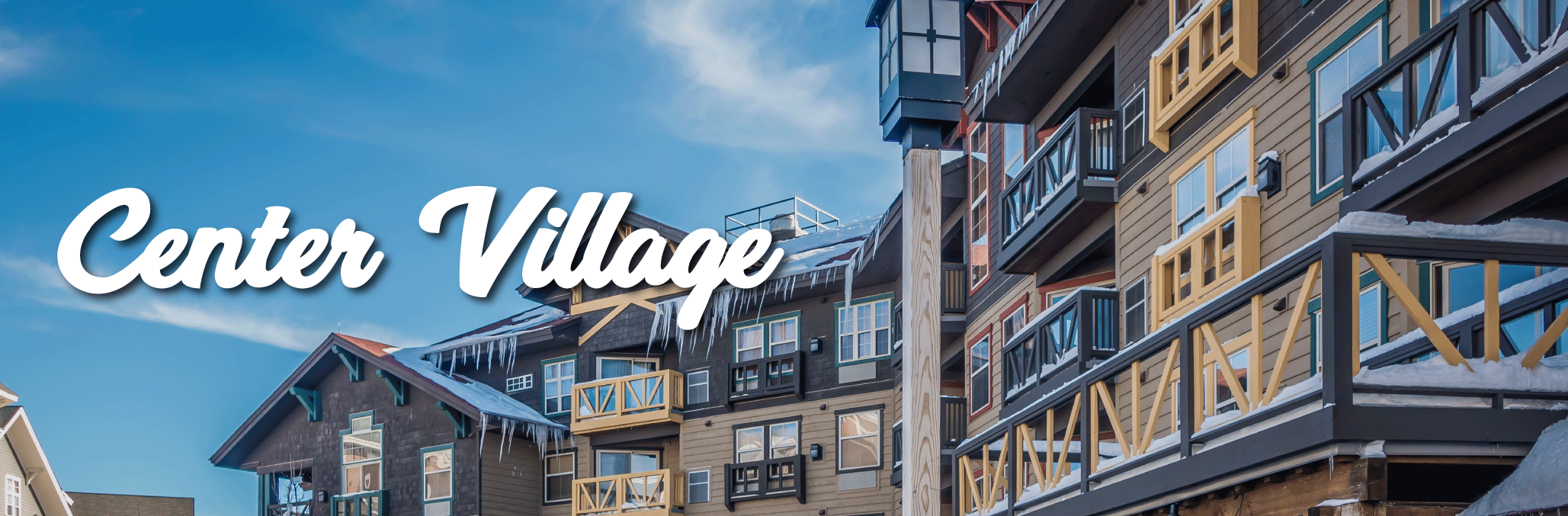 center village copper mountain slider